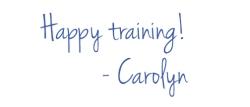 happy training